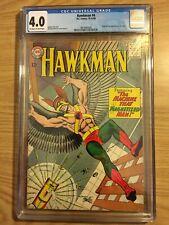 Hawkman # 4 CGC 4.0 Ow-White Pgs Origin and 1st App of Zatanna