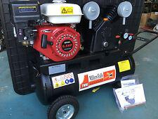 6.5hp Petrol 16cfm Air Compressor 4 stroke 12m warranty not 5.5hp
