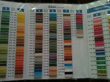 ANCHOR Shade Card Chart Book Colour Book for balls & Skiens Plastic Laminated