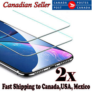 For Apple iPhone 8 7 Plus XR X 12 11 Pro XS Max Tempered Glass Screen Protector