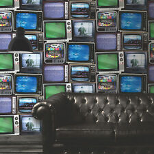 New Muriva - Old TV's - Retro Television - TV Screens Wall - Wallpaper - 102553