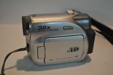 JVC 32X Optical Hyper Zoom Video Camera Model GR-D370U - Untested