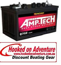 Battery Deep Cycle Amp-Tech D87L Good Value Proven Brand 120 AH