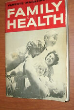 PARENTS' MAGAZINE BOOK OF FAMILY HEALTH by several MDs 1972 pb