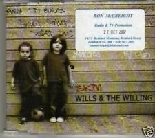 (928G)  Wills & The Willing, Skin - DJ CD