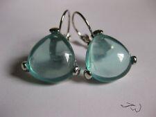 Crystal Bead Hoop Clip-on Earrings