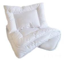 NURSERY COT/ COT BED  PILLOW+ QUILT /DUVET 135x100 cm / 2pcsBEDDING SET/ FILLING