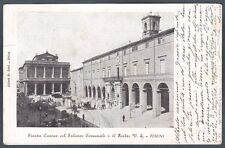 RIMINI CITTÀ 70 TEATRO Cartolina 1902