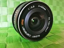 Super Carenar 35mm f2.8 MC, Pentax K Mount,  * Professionally~Serviced *