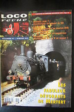 MODELISME FERROVIAIRE TRAIN MAGAZINE LOCO REVUE N° 609 de 1997