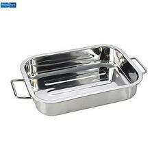 Pendeford Stainless Steel Roasting Tray 40 X 30Cm Cookware Bakeware Kitchen New