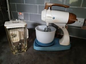 Vintage Retro Sunbeam Mixmaster Food Mixer and Blender
