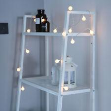 50 LED Globe Ball Fairy String Lights Battery Home Wedding Party Christmas Decor