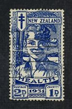 Ckstamps: Gb Stamps Collection New Zealand Scott#B4 Used Lightly Crease