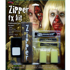 Zipper FX Makeup Zooming Kit Toy Creepy Zombie Face Halloween Party Makeup Set