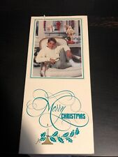 Kenny Rogers Signed Christmas Card Auto Autographed