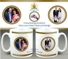 PRINCE Louis Arthur Charles Cambridge #6 - ROYAL BABY MUG CUP - WILLIAM KATE DI