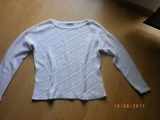 Damen Pullover Gr 38 PROMOD Weiss