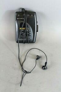 SONY Walkman FM/AM WM-FX26 Mega Bass Walkman Cassette Player Working - EHB