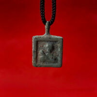 Rare Ancient Bronze patina Viking religious pendant 8-9 century Kievan Rus