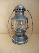 Rare Railroad Lantern 1864 Patent Adams & Westlake Brass Onion Top Untouched