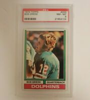 1974 Topps Football Bob Griese #200 PSA 8