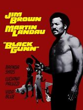 16mm BLACK GUNN (1972). Highly rare ACTION Feature Film.