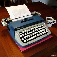 1975 Smith-Corona Galaxie Twelve Typewriter w/case, new ribbon. Works perfectly.
