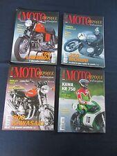 4 numéros de la revue MOTO D'ÉPOQUE ET D'EXCEPTION