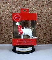 Hallmark White Llama Llama - Christmas Tree Ornament New