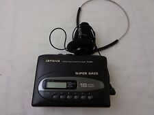 Vintage Aiwa Portable Cassette Player TX320 Super Bass Walkman