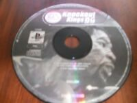 PS1 Playstation 1 Game * Knockout Kings 99 * Disc Only