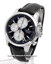 Maurice Lacroix Mechanisch-(Automatisch) Armbanduhren aus echtem Leder