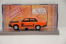 RENAULT 18 GTS EUROPE 1 1979 NOREV BOITE CRISTAL D'ÉPOQUE 1/43 NEUVE EN BOITE