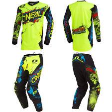 ONeal Element Villain motocross dirt bike gear - Kids / Youth Jersey Pants combo