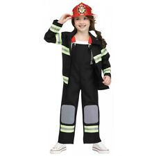 Firefighter Costume Toddler Kids Halloween Fancy Dress