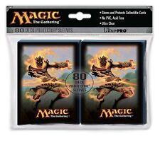 Ultra Pro Magic Gathering MTG Flamekin Bladewhirl DECK PROTECTOR SLEEVES 80ct