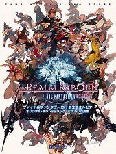 Final Fantasy XIV A Realm Reborn O.S.T Piano Solo Song Collection Book