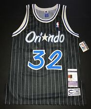 Shaquille O'Neal Signed Champion Authentic Vintage Orlando Magic Jersey JSA 44