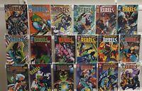 R.E.B.E.L.S. '94 0-17 Complete Set Series Run Lot VF/NM