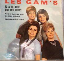 Vinyles singles chanson française avec compilation