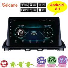 Android 8.1 Mazda 3 Axela GPS Navigation Radio 3G WIFI Bluetooth support SWC DVR