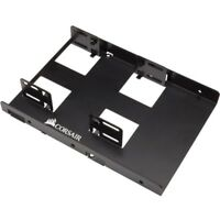 Corsair Mounting Bracket For Hard Disk Drive - Anodized Aluminum - Black