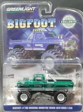 GREENLIGHT BIGFOOT THE ORIGINAL 1974 FORD F250 GREEN MACHINE CHASE