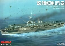 1:200 US WWII aircraft carrier USS Princeton (CVL-23)   paper model