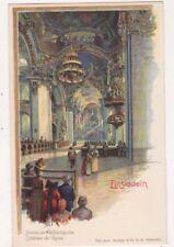 Einsiedeln Germany Wallfahrtskirche Chromo Litho U/B Postcard US072