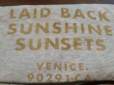 Men's Laid Back Sunshine Sunsets Venice CA H&M Graphic T-Shirt (L) E.U.C