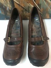 Dr Scholls Womens Brown Shoes with massaging GEL Insole lining 8.5 M