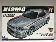 Aoshima Nismo Nissan Skyline GTR R34 Z-Tune Z2 BNR34 Spoiler LM GT4 Model Kit JP