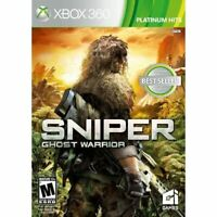 Sniper: Ghost Warrior For Xbox 360 Shooter Game Only 3E